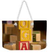 Logan - Alphabet Blocks Weekender Tote Bag