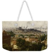 London And The Thames From Greenwich Weekender Tote Bag by John Auld