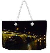 London Bridge Night Weekender Tote Bag