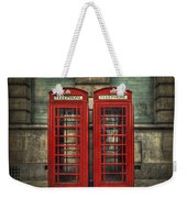 London Calling Weekender Tote Bag by Evelina Kremsdorf