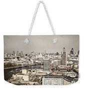 London Cityscape Weekender Tote Bag