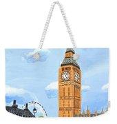 London England Big Ben  Weekender Tote Bag