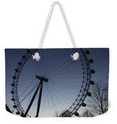 London Eye And New Moon Weekender Tote Bag