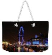 London At Night Weekender Tote Bag