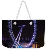 London Eye By Night Weekender Tote Bag