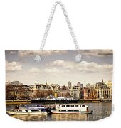 London From Thames River Weekender Tote Bag