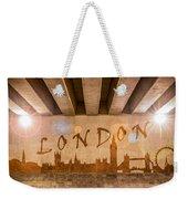 London Graffiti Skyline Weekender Tote Bag