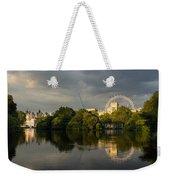 London - Illuminated And Reflected Weekender Tote Bag