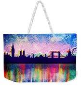 London In Blue  Weekender Tote Bag