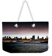 London Over The Waterloo Bridge Weekender Tote Bag