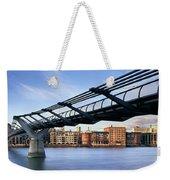 Millennium Bridge London 1 Weekender Tote Bag