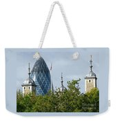 London Towers Weekender Tote Bag by Ann Horn
