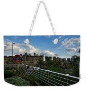 London Underground And The Tower Of London Weekender Tote Bag