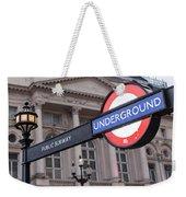 London Underground 1 Weekender Tote Bag