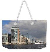 London Victoria Dock Weekender Tote Bag