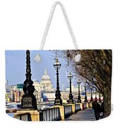 London View From South Bank Weekender Tote Bag