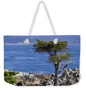 Lone Cypress Tree Weekender Tote Bag