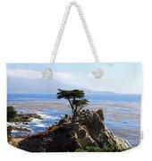 Lone Cypress Tree In Monterey In California Weekender Tote Bag