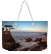 Lone Cyprus Pebble Beach Weekender Tote Bag