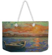 Lone Dinghy Weekender Tote Bag