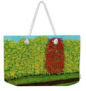 Lone Maple Among The Ashes Weekender Tote Bag