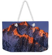 Lone Pine Peak - February Weekender Tote Bag