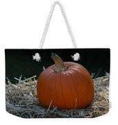 Lone Pumpkin Weekender Tote Bag