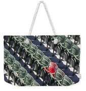 Lone Red Number 21 Fenway Park Weekender Tote Bag