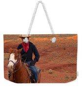 Lone Rider Weekender Tote Bag