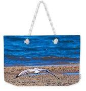 Lone Seagull Weekender Tote Bag