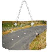 Lone Sheep Weekender Tote Bag