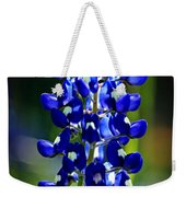 Lone Star Bluebonnet Weekender Tote Bag