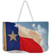 Lone Star Flag Weekender Tote Bag