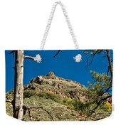 Lone Tree On The Mountain Weekender Tote Bag