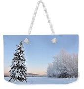 Lone Winter Spruce - Alaska Weekender Tote Bag