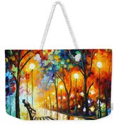 Loneliness Of Autumn Weekender Tote Bag