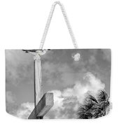 Lonely At The Top Weekender Tote Bag by Lynn Palmer