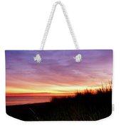 Lonely Beach At Sunrise Norfolk Va Weekender Tote Bag