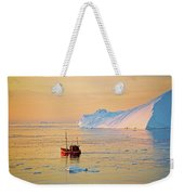 Lonely Boat - Greenland Weekender Tote Bag