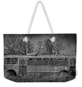 Lonely Bus  Weekender Tote Bag