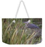 Lonely Heron Weekender Tote Bag
