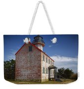 Lonely East Point Lighthouse Weekender Tote Bag