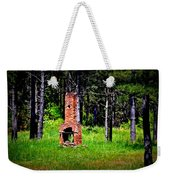 Lonely Fireplace Weekender Tote Bag