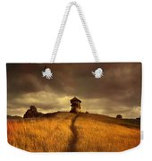 Lonely House On The Hill Weekender Tote Bag