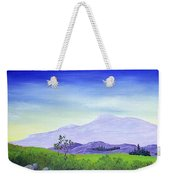 Lonely Mountain Weekender Tote Bag