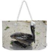 Lonely Pelican Weekender Tote Bag