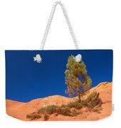 Lonely Pine On The Ocher Hill Weekender Tote Bag