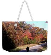 Lonely Road Home Weekender Tote Bag