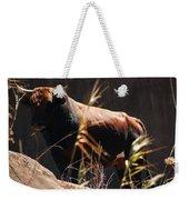Lonesome Bull Weekender Tote Bag