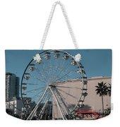 Long Beach In Technicolor Weekender Tote Bag